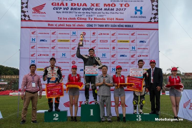 IRC Việt Nam tham gia giải đua Honda Racing