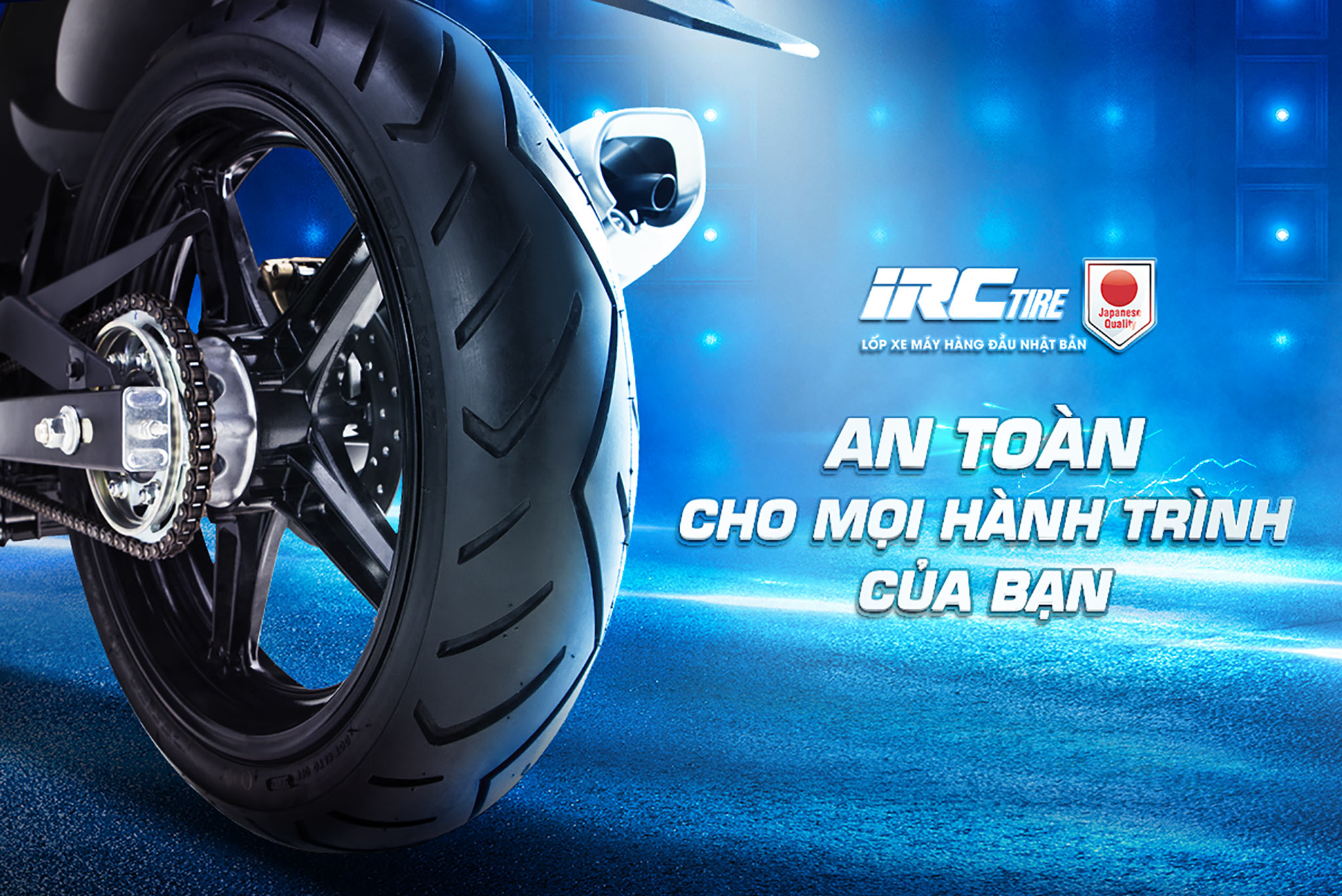 Why irc tire is the most choiced of many manufactor Motorbike ?