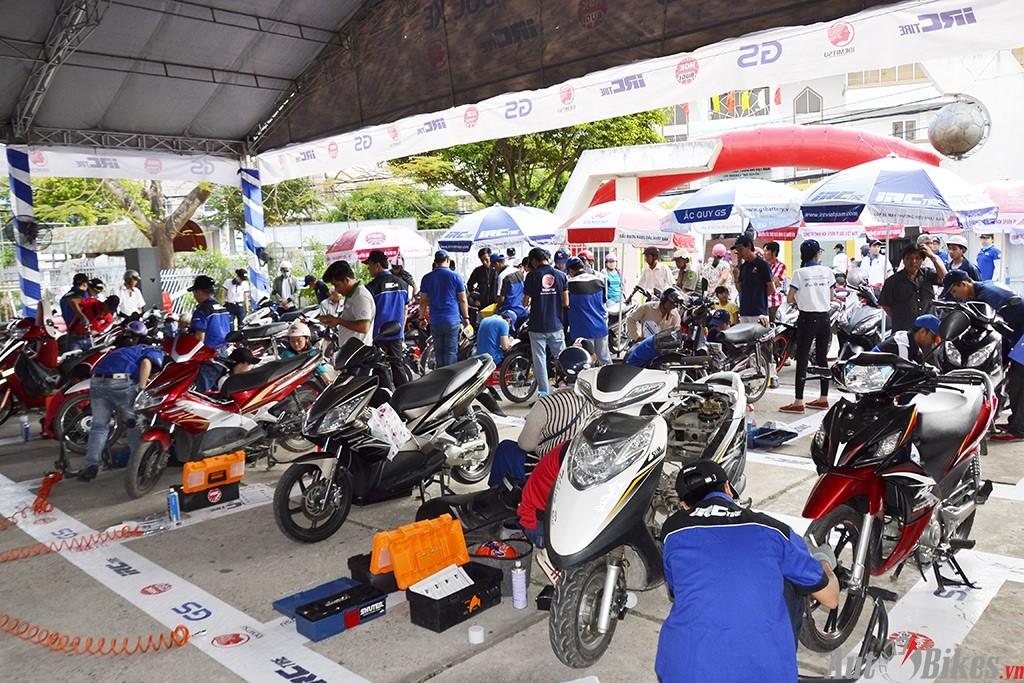 Ngày hội chăm sóc xe máy 2017: Chăm sóc xe như chính cơ thể bạn tại Tp.Long Xuyên, An Giang